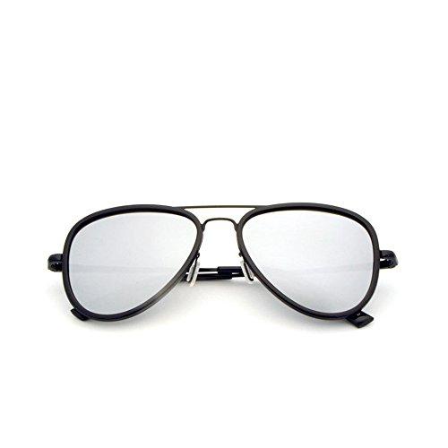 y gafas completa antideslumbrante conducir conducir Gafas de de de sol sol para al luz La con libre antivibratorias gafas polarizadas montura sol aire para adecuada es polarizadas muje para Silver de Gafas 6Ixvwz6