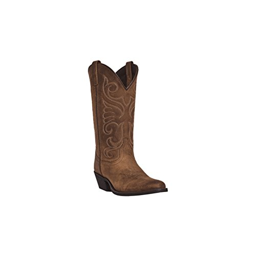Laredo Women's Bridget Western Boot, Tan, 9.5 M US