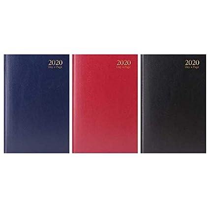 Agenda 2020, A4, A5, A6, página por día, semana compartida ...