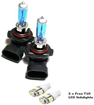 55w Super White Xenon Upgrade HID Front Fog Lamp Light Bulbs Replacement