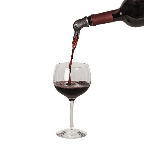 stainless steel wine aerator amp liquor pourer duck buy