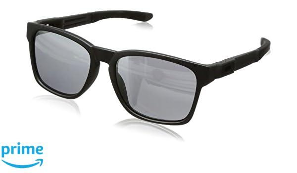Oakley OO9272 03 Catalyst Gafas de sol, Wayfarer, 56, Gris ...