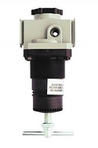Milton 1114-8 3/8'' NPT High Pressure FRL Regulator by Milton Industries