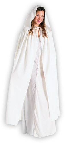 Adult White Arwen Cloak
