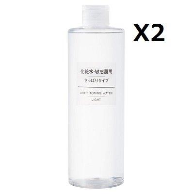 無印良品 化粧水 敏感肌用 さっぱりタイプ(大容量) 400ml (2