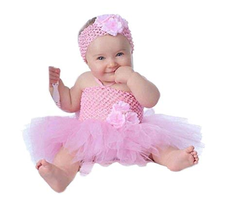 AP Boutique Girls Party Dresses Pink 1 Year