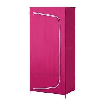 IKEA BREIM -Kleiderschrank pink - 80x55x180 cm: Amazon.de: Küche ...