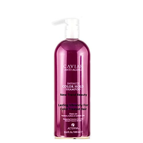 Alterna Caviar Anti-Aging Infinite Color Hold Shampoo Lasting Vibrancy For Color Treated Hair 33.8 Ounce