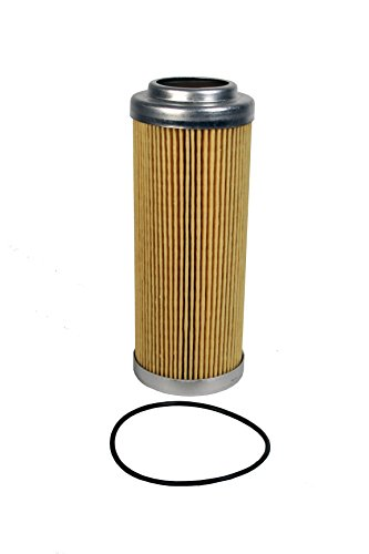 "Aeromotive 12610 Replacement Filter Element, 10-Micron Cellulose, Fits All 2-1/2"" OD Filter Housings"