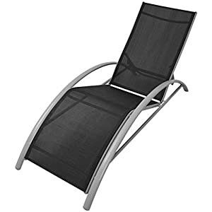 mewmewcat-Sun-Lounger-Beach-Chair-Modern-Design-Outdoors-Use-Weather-resistant-and-Waterproof-156-x-60-x-89-cm-Black