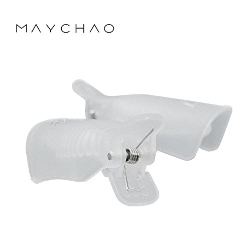 Maychao Nail Polish Remover Clips Set,Maychao 10Pcs Reusable