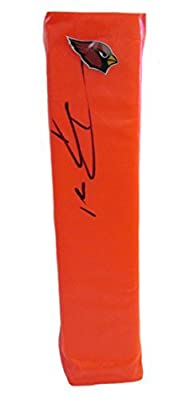 Patrick Peterson Autographed / Signed Arizona Cardinals Full Size Logo Football Touchdown End Zone Pylon, Proof Photo