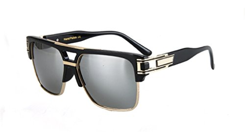 Star Style Sunglasses Retro Polarized Rectangular - Chinese Online Eyeglasses