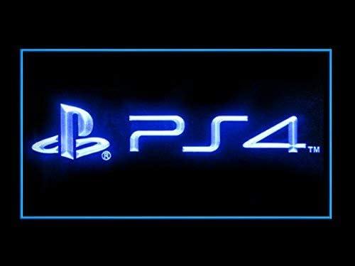 LEDHouse Playstation 4 Logo Caracteres Publicidad Neon Cartel Azul: Amazon.es: Hogar