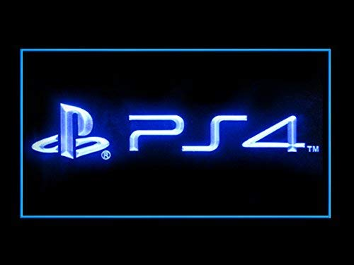 PS4 Playstation 4 Store Games Shop Advertising Led Light - Lights 4 Playstation