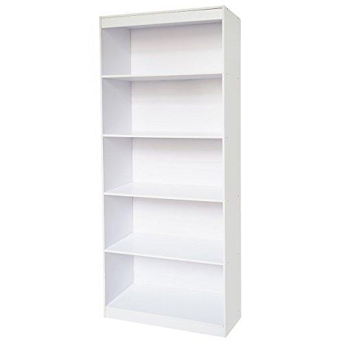 Techni Mobili RTA-BC19-WHT Bookcase, White by Techni Mobili