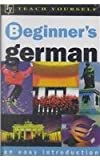 Teach Yourself Beginner's German, McNab, Rosi, 065801627X