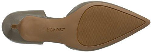 Nine West Xrazy cuero bomba de vestir Gry-Gry