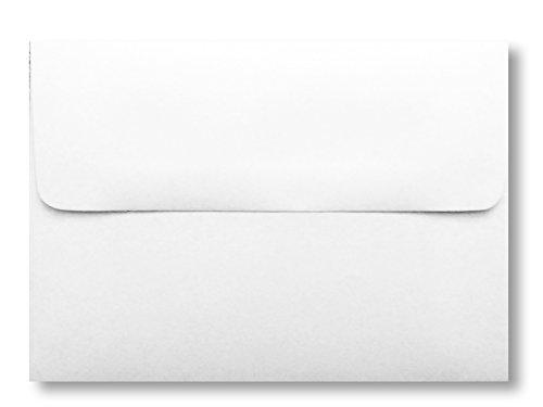 White 200 Boxed A7 Envelopes for 5