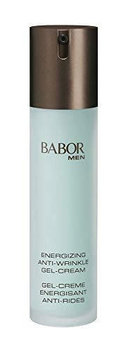 BABOR MEN Anti-Wrinkle Face & Eye Energizer for Face 1.75 Oz - Best Natural Men's Face Gel Cream for Day and Night