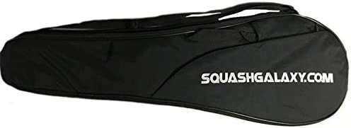 Deluxe Full Size Squash Racquet Cover w Pocket