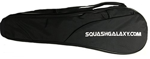 """Deluxe"" Full Size Squash Racquet Cover w/ Pocket"