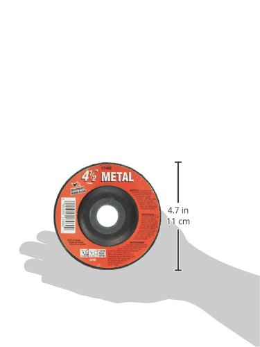 Vermont American 17460 7//8-Inch Arbor Size 4-1//2-Inch Type 27 Thick Metal Cutting Wheel