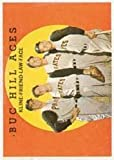 1959 Topps Regular (Baseball) Card# 428 Kline/Frnd/Law/Face of the Pittsburgh Pirates VGX Condition