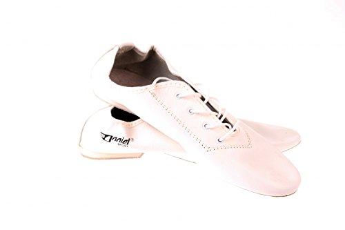 Taglia Shoes 37 Jazz Ritmo White Turn Leather wqnXx8n1