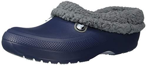 Crocs Blitzen III Clog, Navy/Slate Grey, 9 US Women / 7 US Men (Slippers For Women Blue)