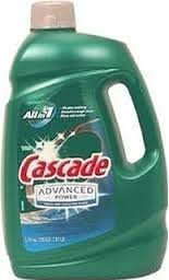 Cascade Advanced Power liquid machine dishwasher detergent with Dawn, 125-fl. oz., plastic bottle (125 fl oz) - Pack of 3 by Cascade C