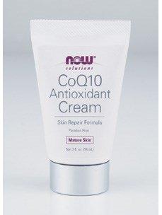 Now Foods CoQ10 Antioxidant Cream - 2 oz 3 Pack Discount
