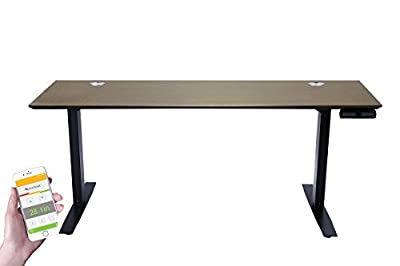 "ApexDesk Flex Pro Series 66"" Standing Desk Base & Top with Bluetooth Function & Memory Controller"