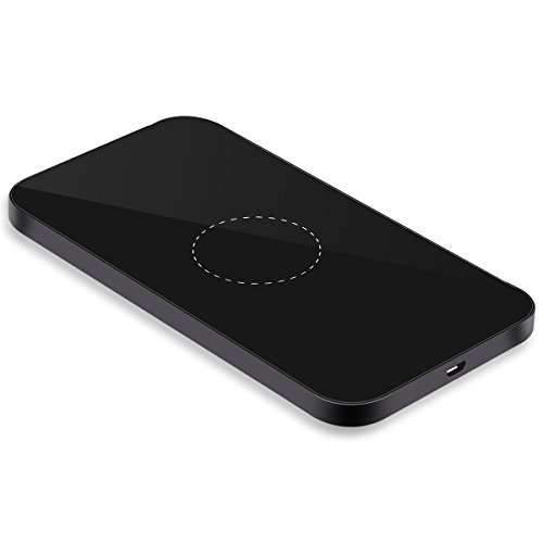 INTS Fast Wireless Charge Ultra-Slim 10W Wireless Charging Pad for Samsung Galaxy S7, Galaxy S7 Edge, Note 5, Galaxy S6 Edge Plus