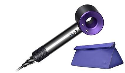 Dyson Supersonic Púrpura Níquel secador de pelo Azul Cobalto con bolsa de viaje / regalo