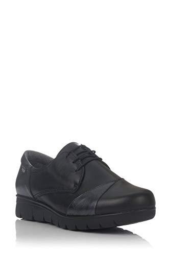 De Foot Piel Negro On Blucher qfdFfE