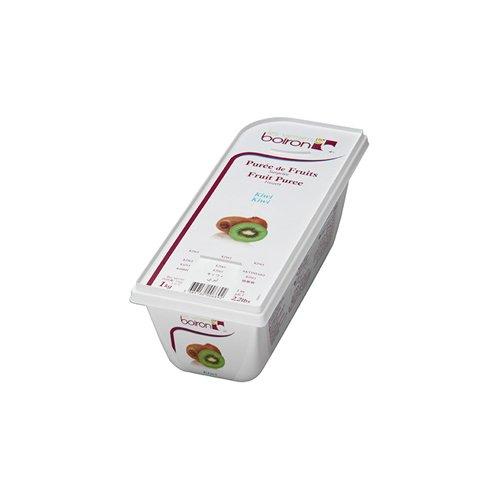 Kiwi Fruit Puree Frozen - 1 Kg (Pack of 2)