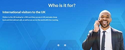 WorldSIM - Tarjeta SIM para Reino Unido (Incluye crédito Inicial ...