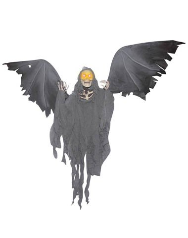 Animated Flying Reaper Decoration -