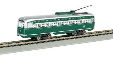Bachmann PCC Street Car Brooklyn and Queens Transit with Die-Cast Power Truck HO Scale ()