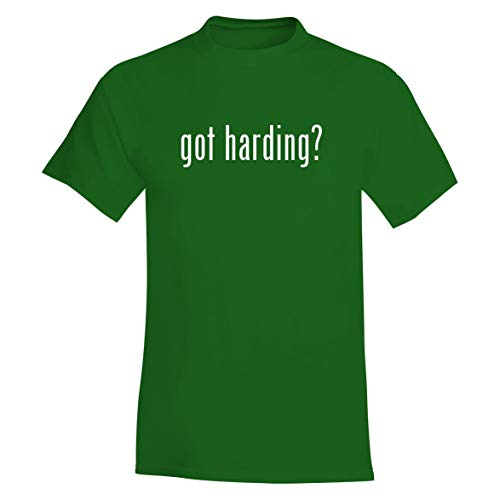 The Town Butler got Harding? - A Soft & Comfortable Men's T-Shirt, Green, Large
