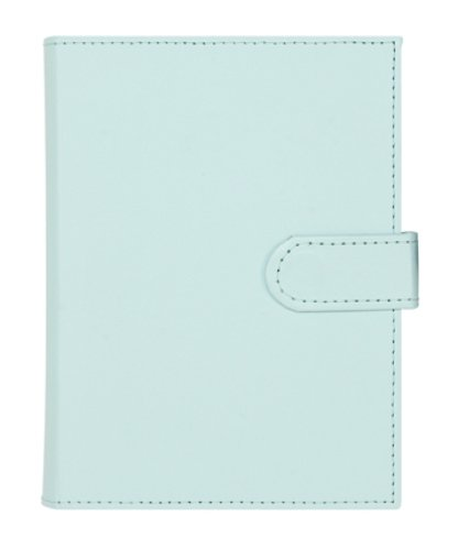 CR Gibson Compact Photo Book, Blue Leather,
