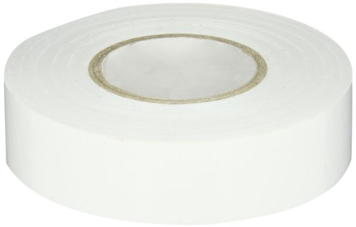 General Purpose Easy Wrap Electrical Tape, 0.75'' Width, 60' Length, 0.007'' Thick, White by NSI