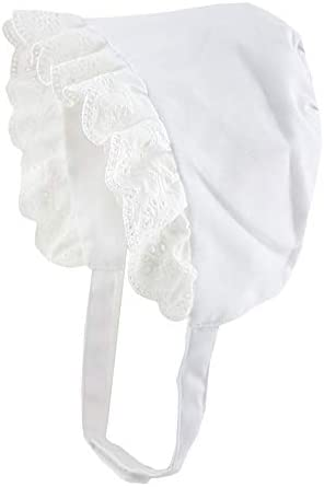 BONNET - Gorro de sol para bebé, niña, algodón, con bordado de ángel blanco blanco Talla:0 a 3 meses: Amazon.es: Ropa y accesorios