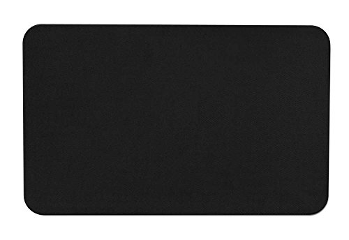 (House, Home and More Skid-resistant Carpet Indoor Area Rug Floor Mat - Black - 2' X 3' - Many Other Sizes to Choose From )