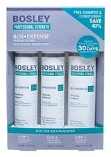 Bosley Bosdefense Starter Kit For Non Color-Treated Hair