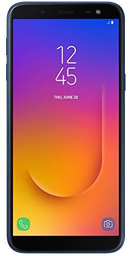 "Galaxy J6 Infinity (64GB, 4GB RAM) 5.6"" HD+ Display J600G/DS, 4G LTE Dual SIM GSM Factory Unlocked, International Version, No Warranty (Blue)"