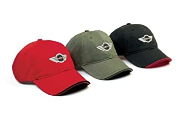 d27dd58e610 Image Unavailable. Image not available for. Colour  MINI Cooper Recycled Cap  Red ...
