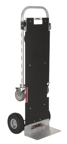 Magline XLSP Gemini XL Convertible Hand Truck, Pneumatic Wheels, 500 lbs Load Capacity, 62-3/4'' Height, 57-1/4'' Length x 22-3/4'' Width by Magliner