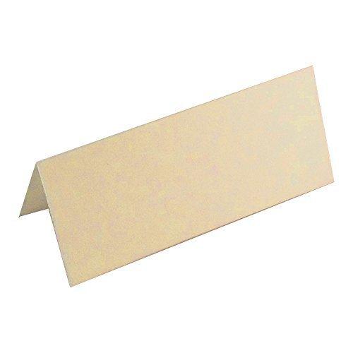 100 x blanco tarjetas de lugar para bodas y las partes - UK ...
